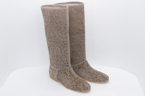 Sommerstiefel taupe