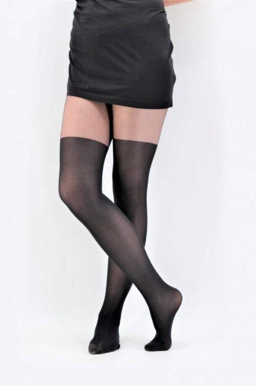 Strumpfhose Paris L/XL in schwarz