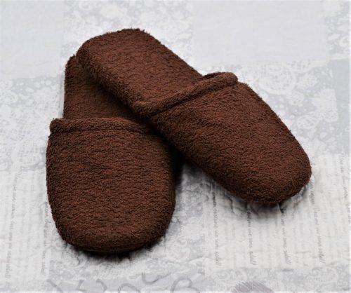 Pantofoloni in braun