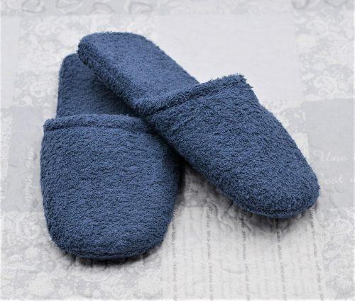 Pantofoloni in jeansblau