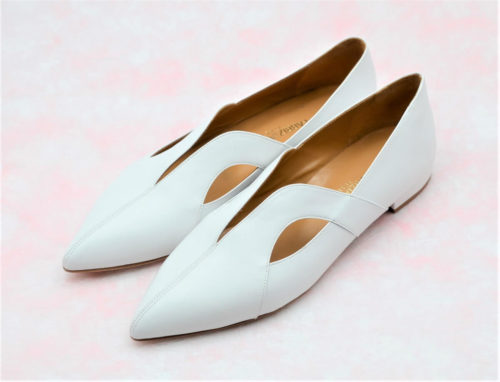 Supersoft slip-on bianco