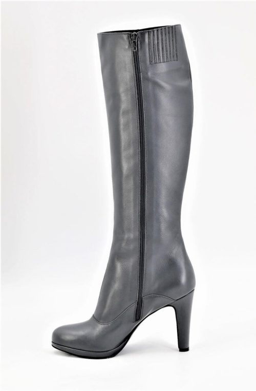 Boots gunmetal grey small