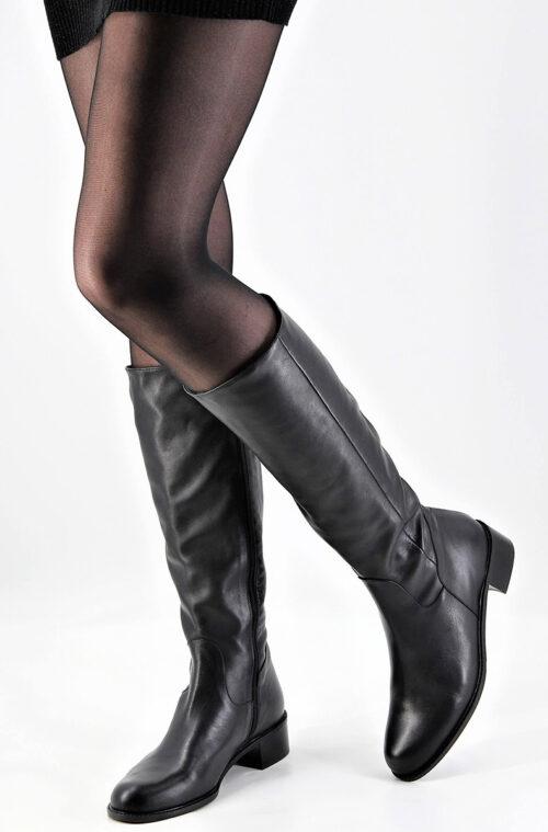 Stiefel simple schwarz