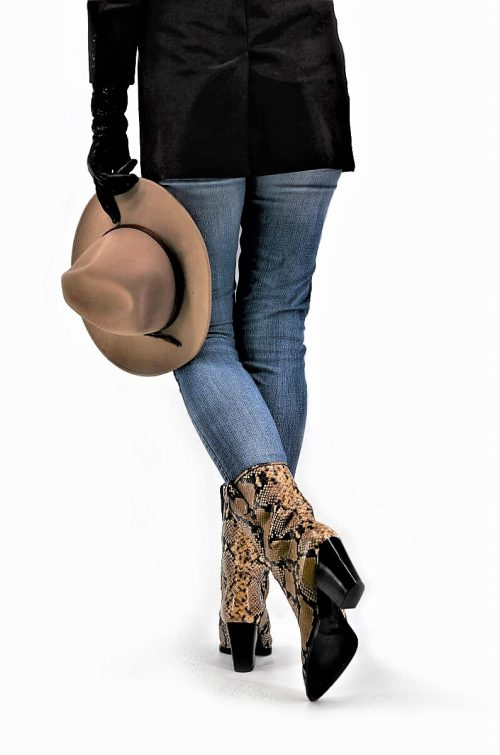 Cowboy booties PythonPrint