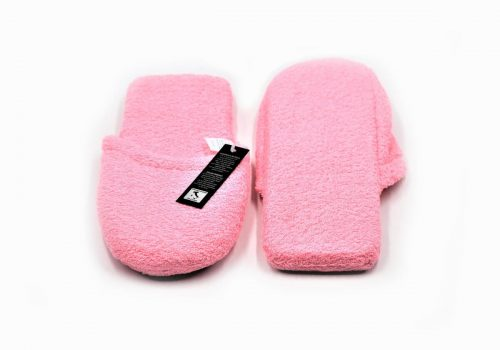 Pantoffeln in Rosa