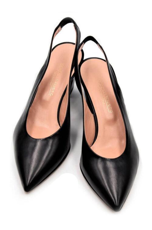 Elegante Slingbacks in schwarz