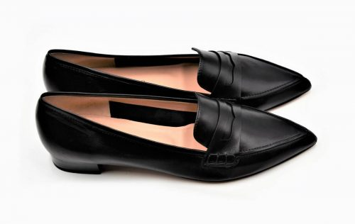 Business Loafers schwarz