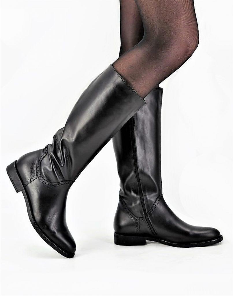 Stiefel klassisch schwarz