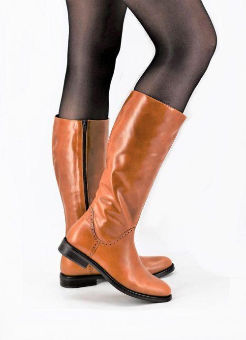Stiefel natürliches hellbraun