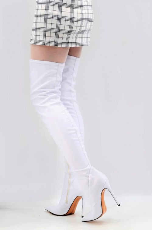 White Dream Overknees