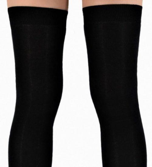 Overknee Socken EXTRALONG in schwarz