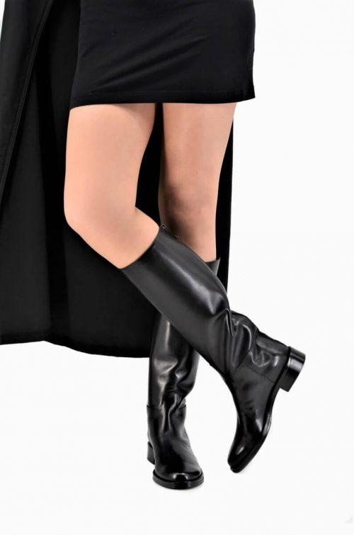 Luxus Back Zip Boots