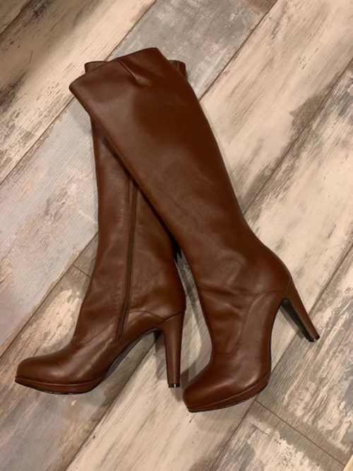 Boots cognac small