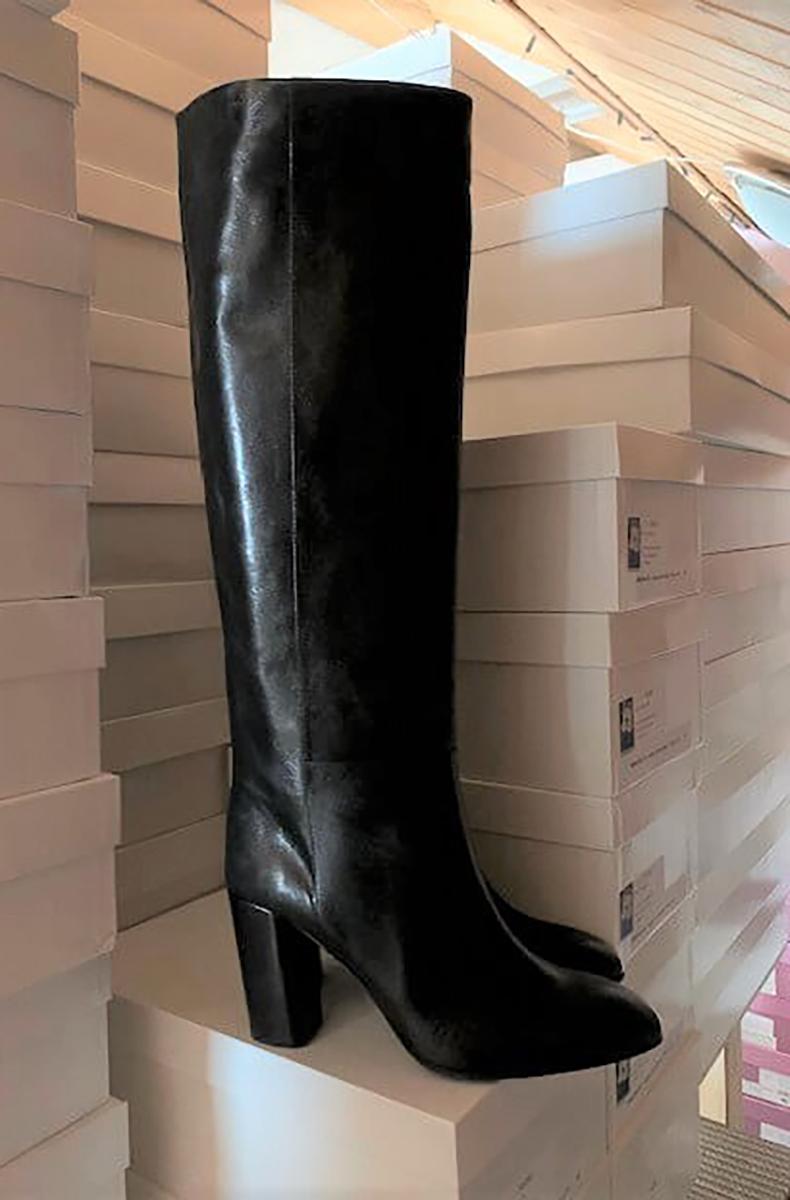 No Zip Boots Full Black