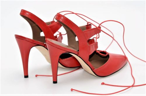Slingback-Heels rot