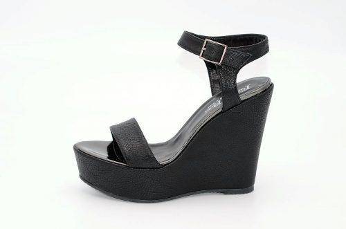 Sandalen Keilabsatz schwarz