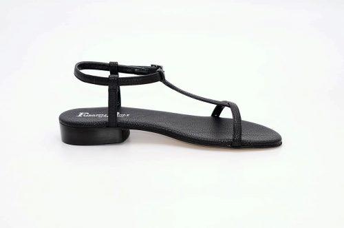 Sandalen schwarzes Leder