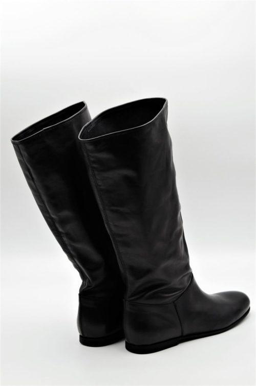 Stiefel in schwarz für die Übergangszeit in XL Schaftweite