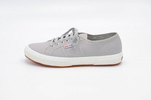 Superga grey aus Baumwolle