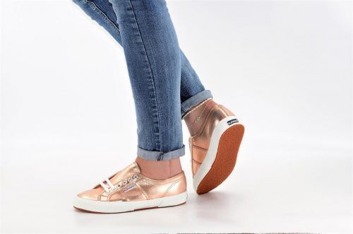 Superga rose gold aus Textil