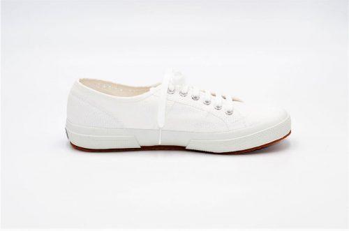 Superga white classic aus Baumwolle