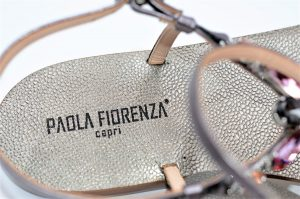 Paola Fiorenza Capri Sandals Rosa