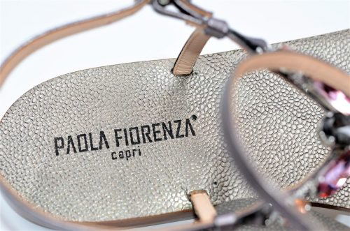 Paola Fiorenza Capri Sandals Rosa Fume´