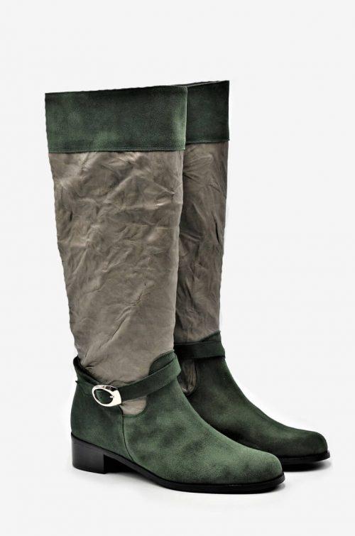 Eleganter Stiefel Jagd Style