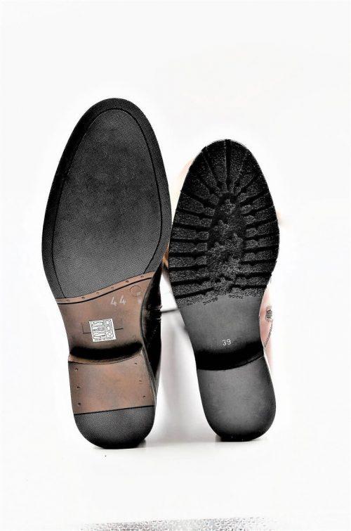 Stiefel 16-Loch in cognac