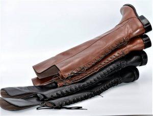 Stiefel 16-Loch Schnürung Standard Schaftweite