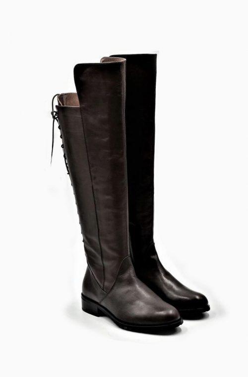 Stiefel 16-Loch in braun