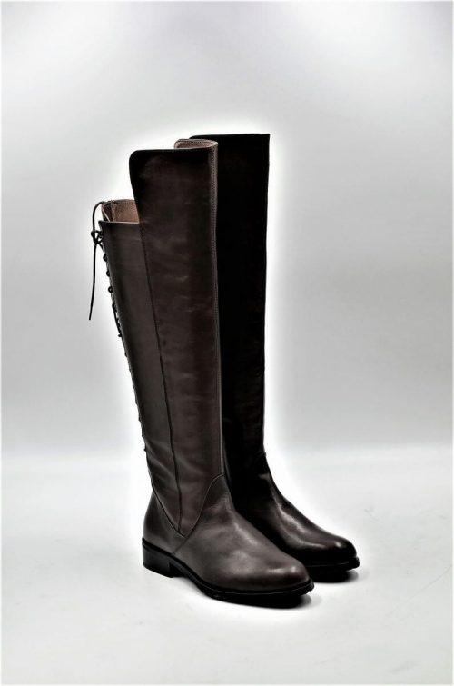 Stiefel 14-Loch in braun