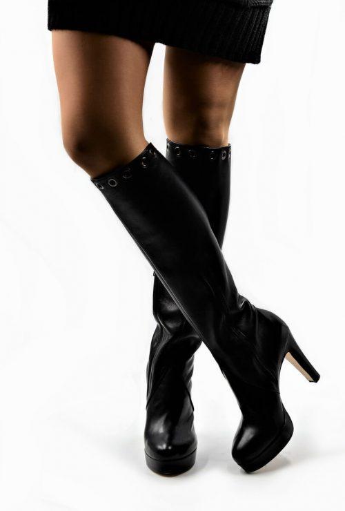 Stiefel mit Ösen Deluxe