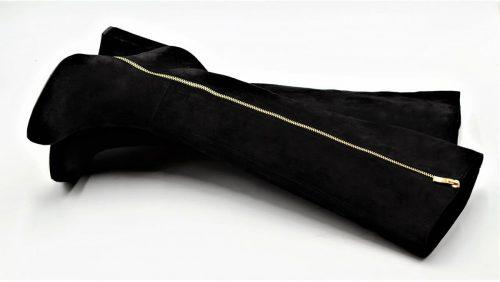 Stiefel Wildleder Deluxe in schwarz