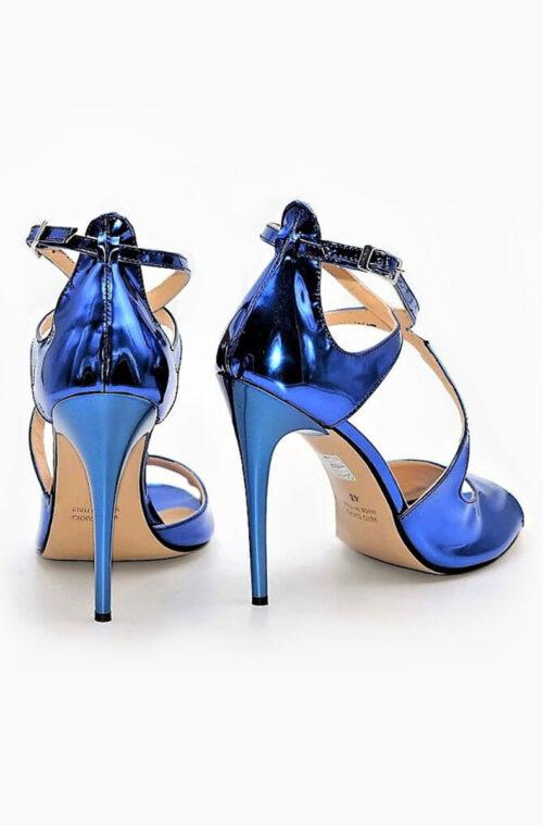 High-Heels Lackleder BlueLagoon
