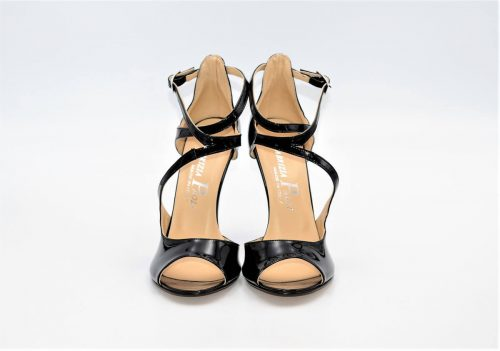 High-Heels Lackleder GlamBlack