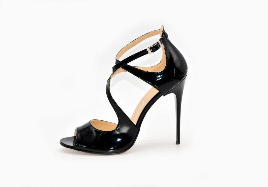 High-Heels Lackleder GlamBlack