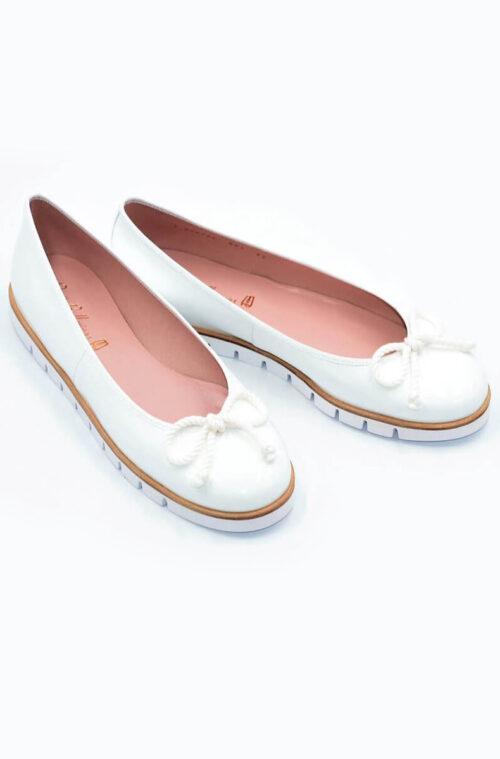 Pretty Ballerinas Bianco