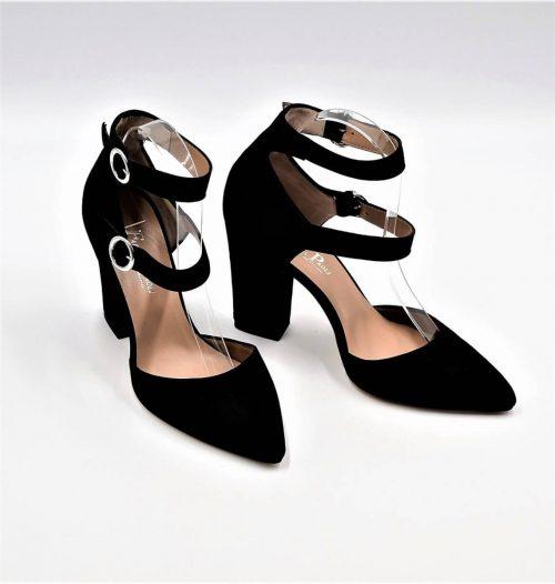 High-Heels mit Doppelriemen