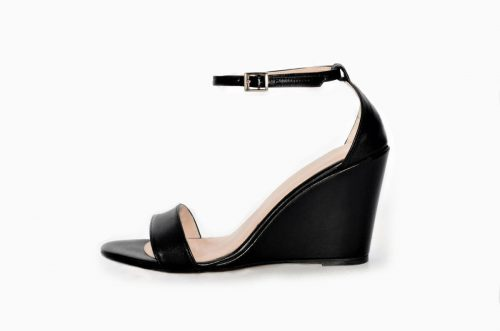 Wedges Sandaletten in Black