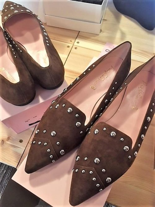 Pretty Ballerinas Western Style Slippers