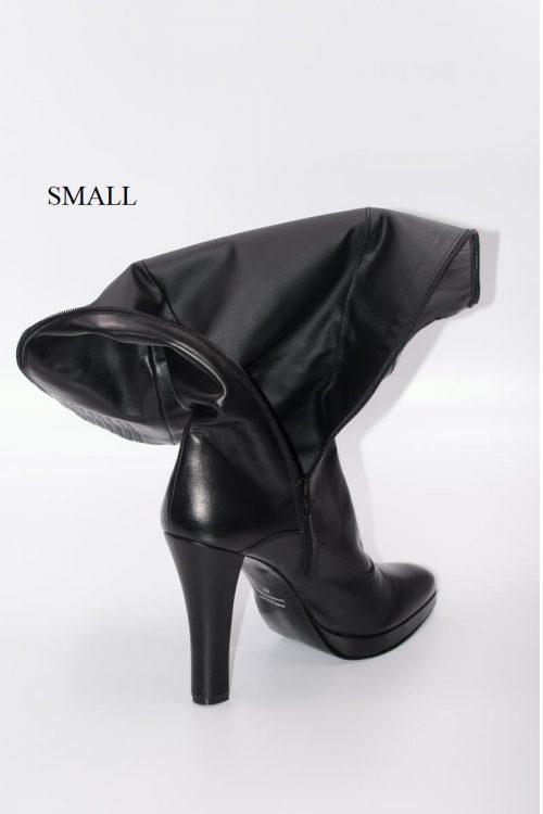 Lederstiefel 14 cm Absatz Schaft Small