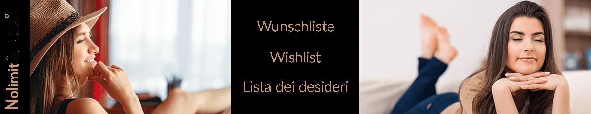 Wunschliste bei Nolimitshoes.com Damenschuhe und Damenstiefel Exklusive Modelle in Übergröße